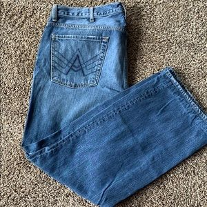 Men's 7 for all man kind bootcut jeans